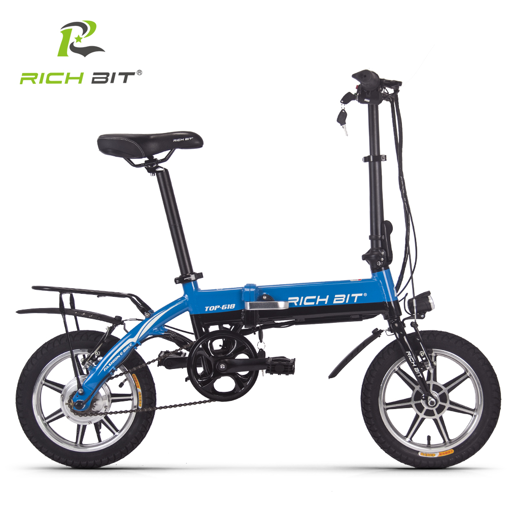 14 zoll richbit e bike faltrad klapprad elektrofahrrad. Black Bedroom Furniture Sets. Home Design Ideas