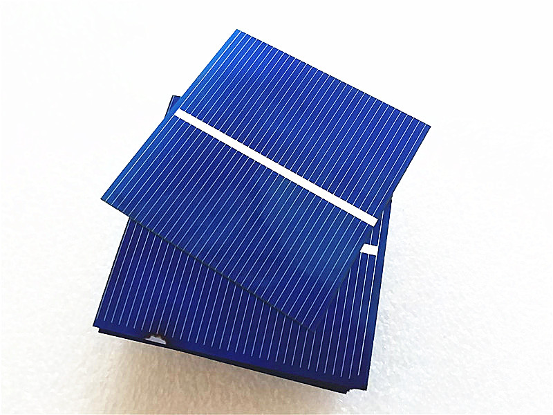 100pcs 52 52mm 0 5v 0 43w Solar Panel Diy Solar Cell