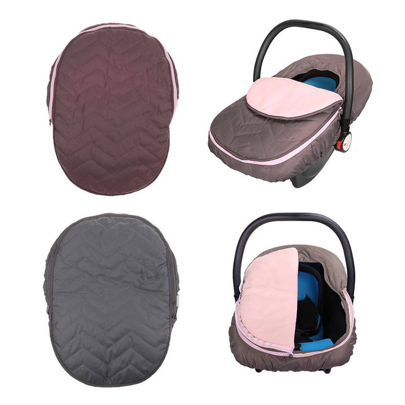 Super Details About Infant Car Seat Cover Weather Resistant Canopy Baby Car Seats Warm Winter Usa Machost Co Dining Chair Design Ideas Machostcouk