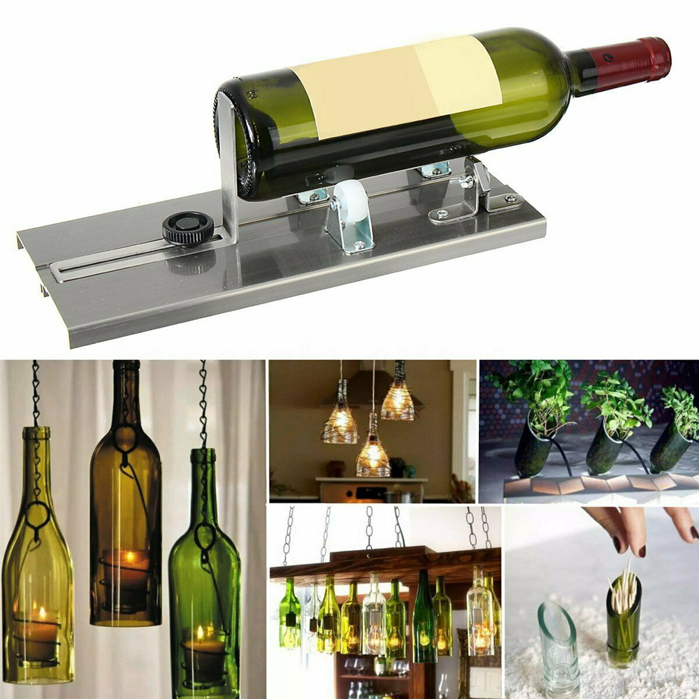 Glass Cutter Beer Wine Bottle Cut Bottles Cutting Tool for Art Craft Making DIY