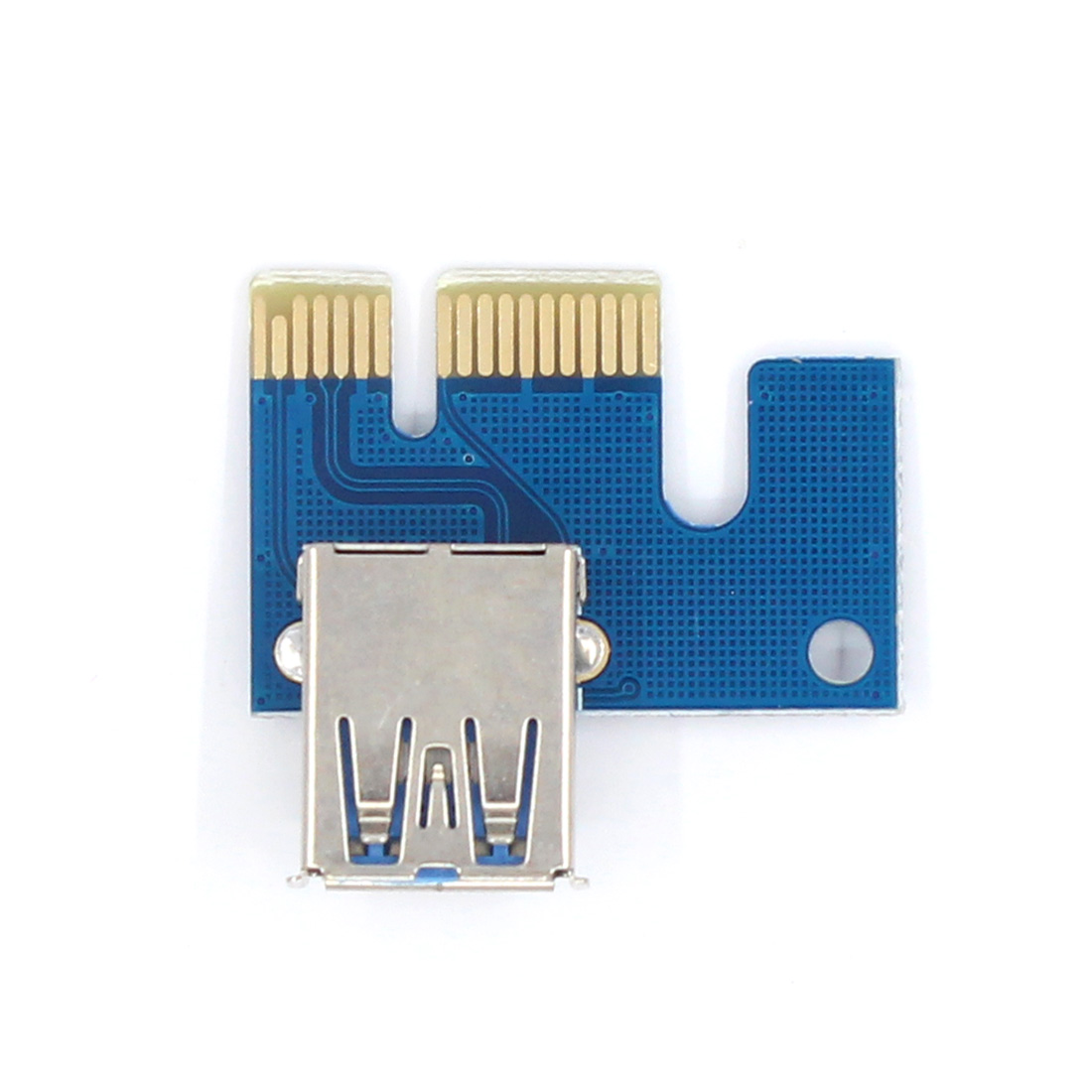 PCI-E 1X to 16X PCI-E Extended Adapter Graphics Extension Cable Mining Cable
