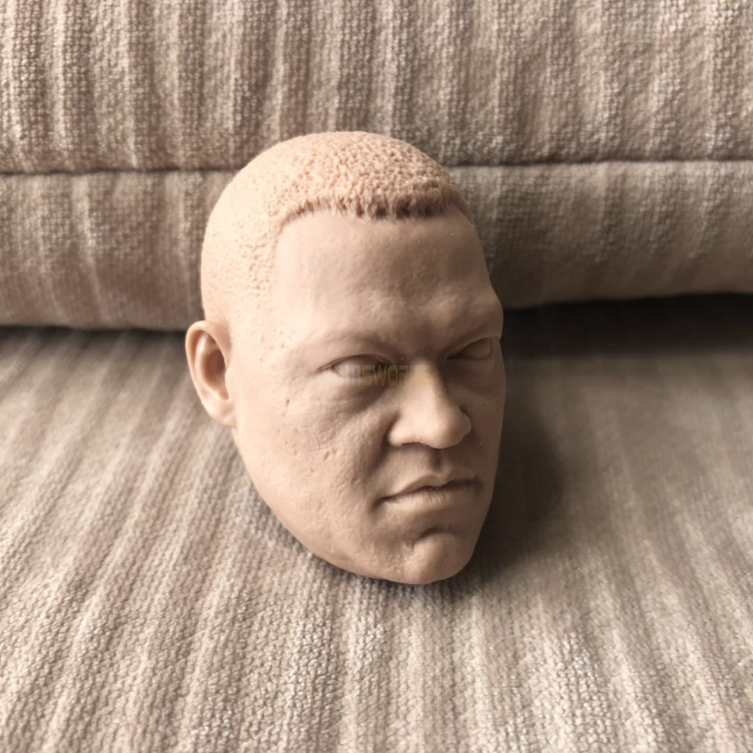 "Free Ship 1//6 Scale The Last of Us TLOU Joel Head Sculpt unpainted fit 12/"" body"