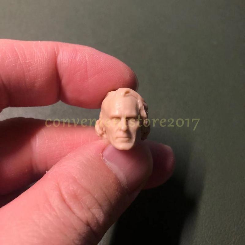 Joker Joaquin Phoenix Head Sculpt Unpainted Model 1//6 Fit For 12/'/' Action Figure