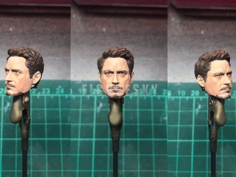 "1:12 Scale Head Sculpt Man Model Toy Fit 6/"" Action Figure Body"