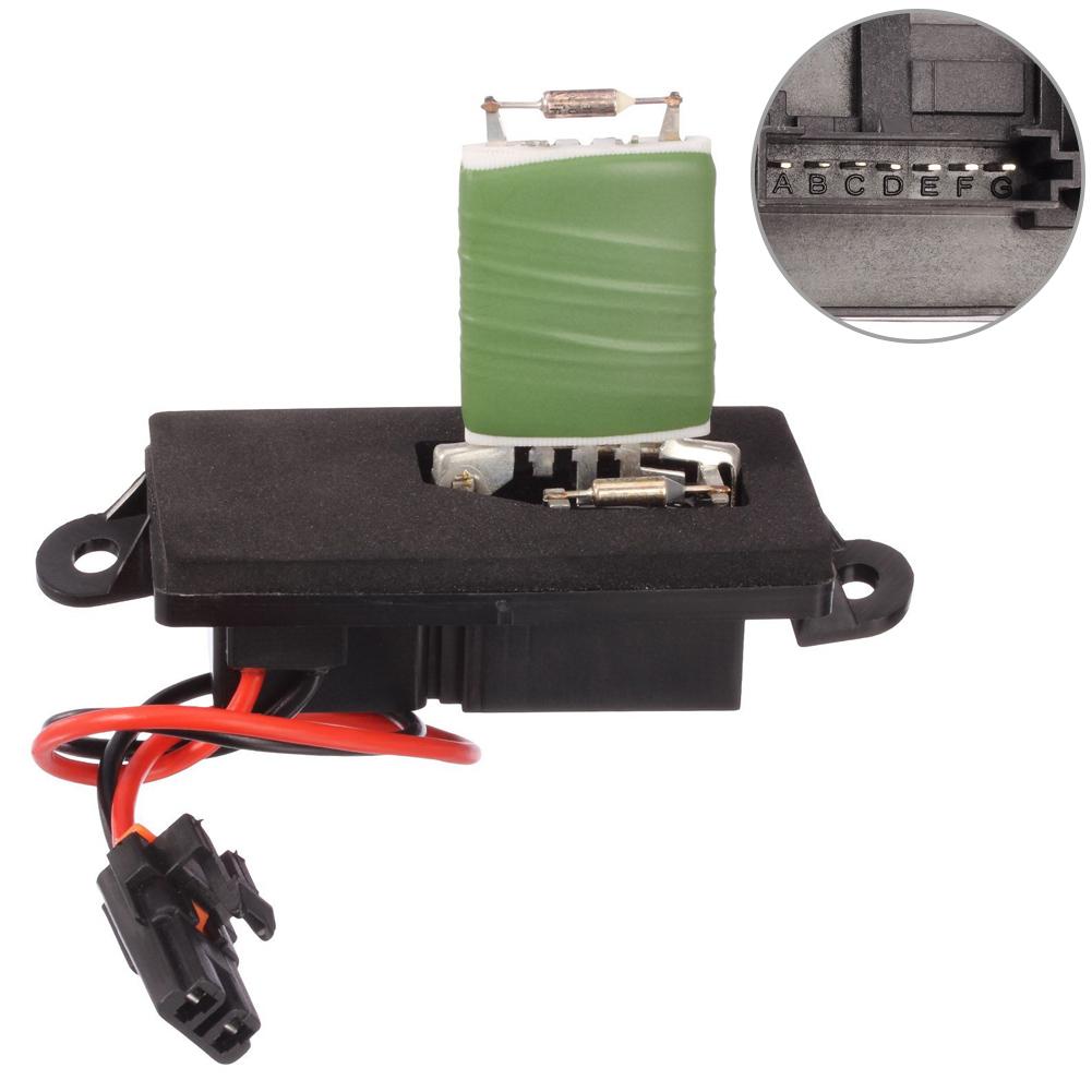 D B A A B B D Ff on 2005 Chevy Suburban Blower Motor Resistor