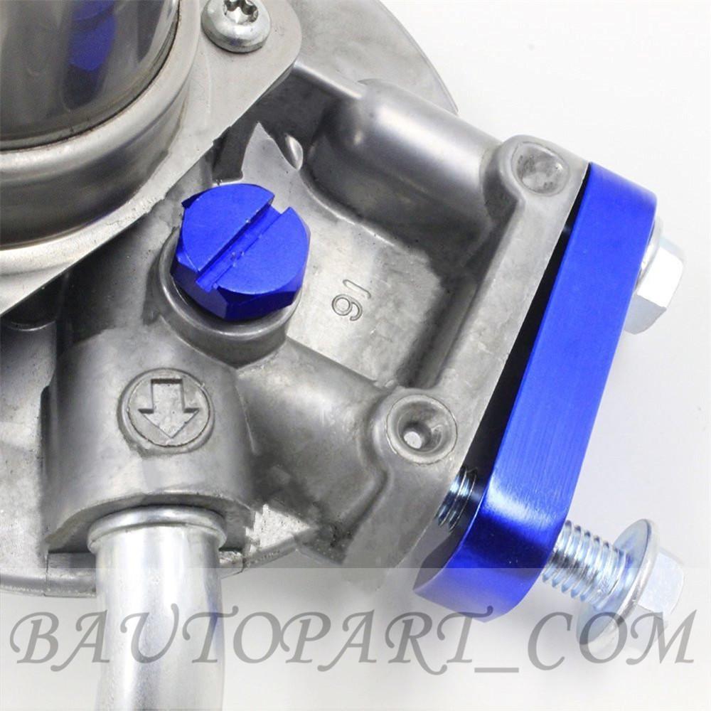 Fuel Filter Housing Bleeder Screw For Gm 2001 2017 Duramax Diesel Filters Blue