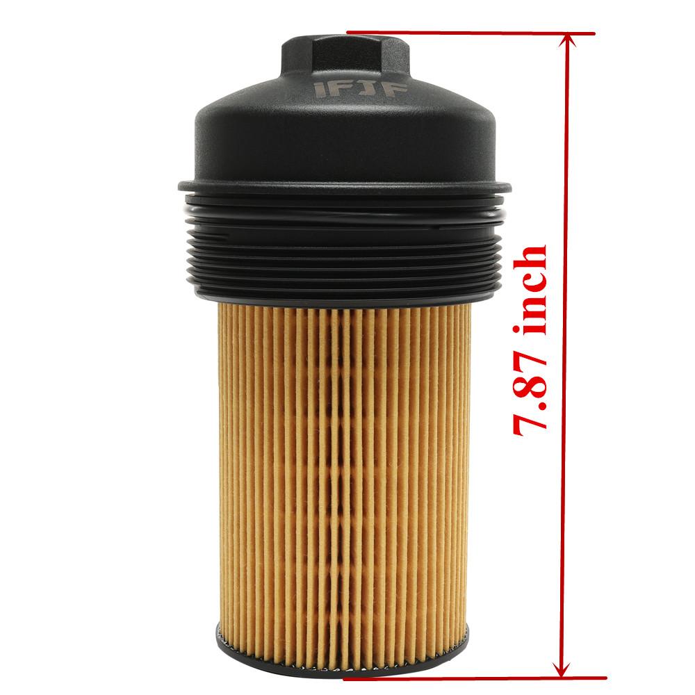 For 2003-2010 Ford Super Duty 6.0 Power Stroke Oil Filter Cap EC781