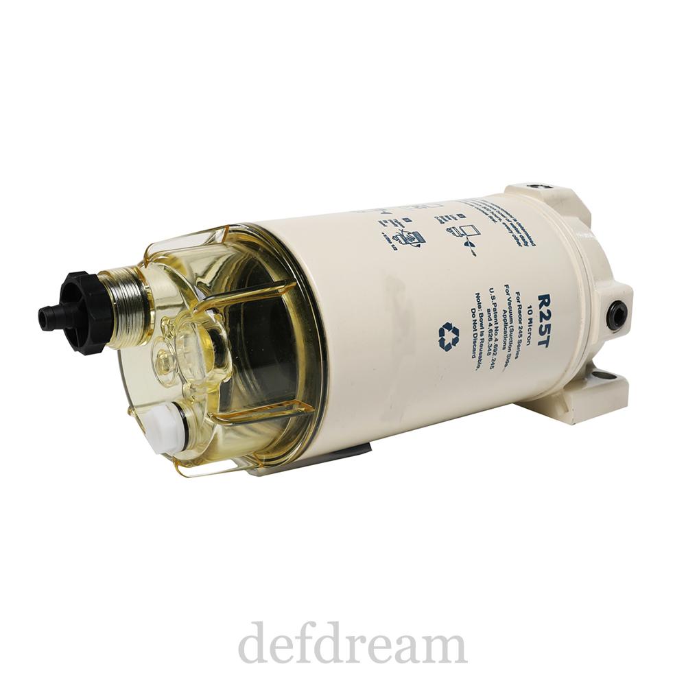 320rrac01 Racor 320R-Rac-01 Filter W//Head-Gas Clear Bowl