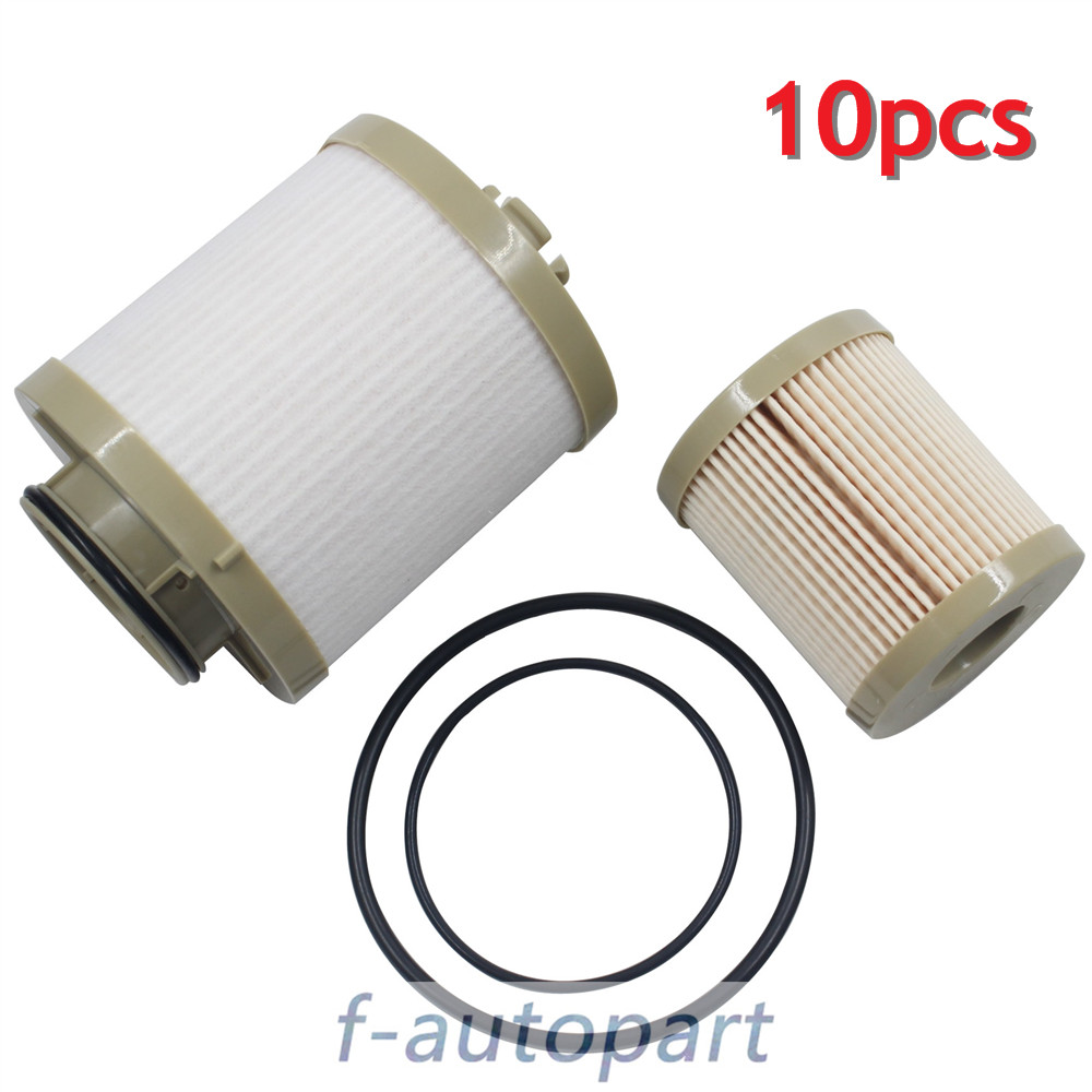 10 PCS For Ford Fuel Filter Diesel 6.0 F250 F350 F450 Powerstroke FD4604  FD4616