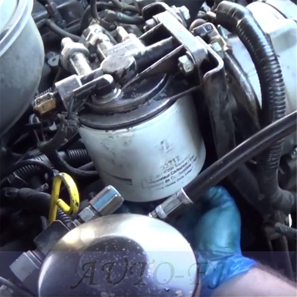 For Ford 69l 73l Idi Diesel Engines Fuel Filter Housing Header 7 3 F2tz 9b249 A