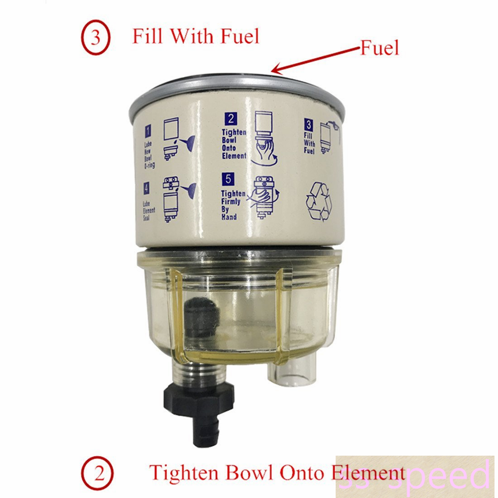 Fuel Filter Water Separator R12t 120at Replacement Element For Racor