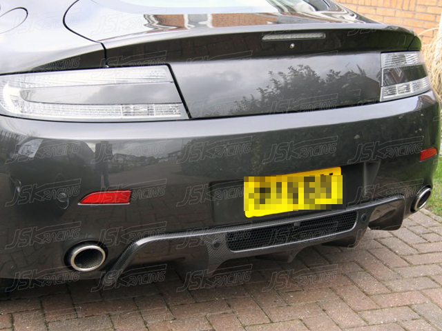 O Style Carbon Fiber Rear Diffuser For 2011 Aston Martin Vantage V8 N420 Ebay