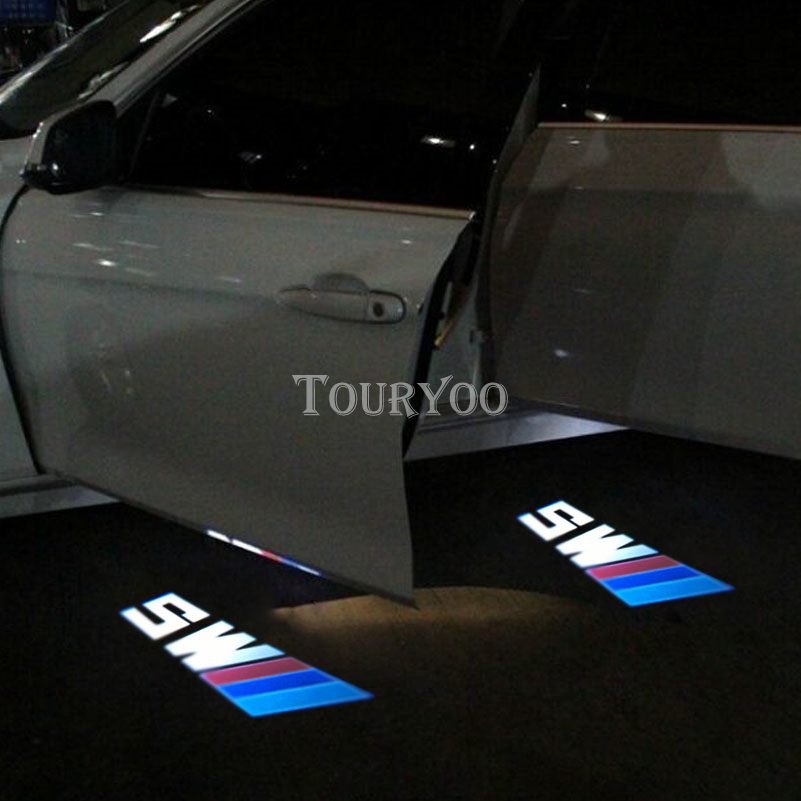 2x led m5 car courtesy door shadow light logo projector. Black Bedroom Furniture Sets. Home Design Ideas