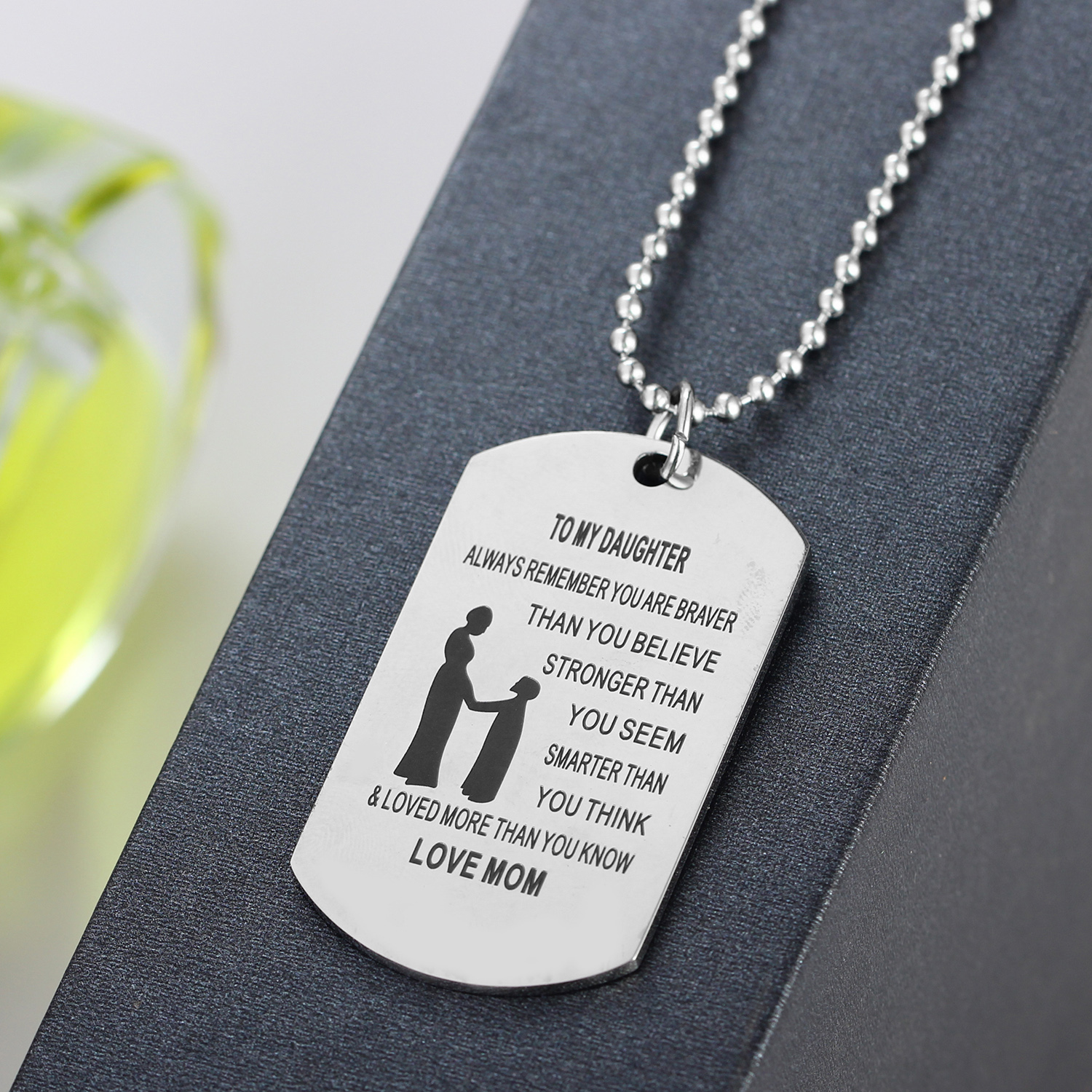 engraved au dog unique message custom il necklace mens tag listing military fullxfull zoom personalize