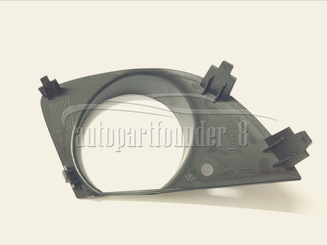 51117142180 Front Right side Fog Light Trim Bumper Cover For BMW E65 E66 760Li