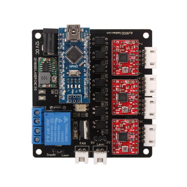 nano 3 axis control board firmware
