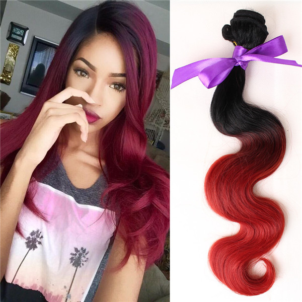 1pcs Omber Tone Bug Body Wave Women Natural Hair Extension Weave
