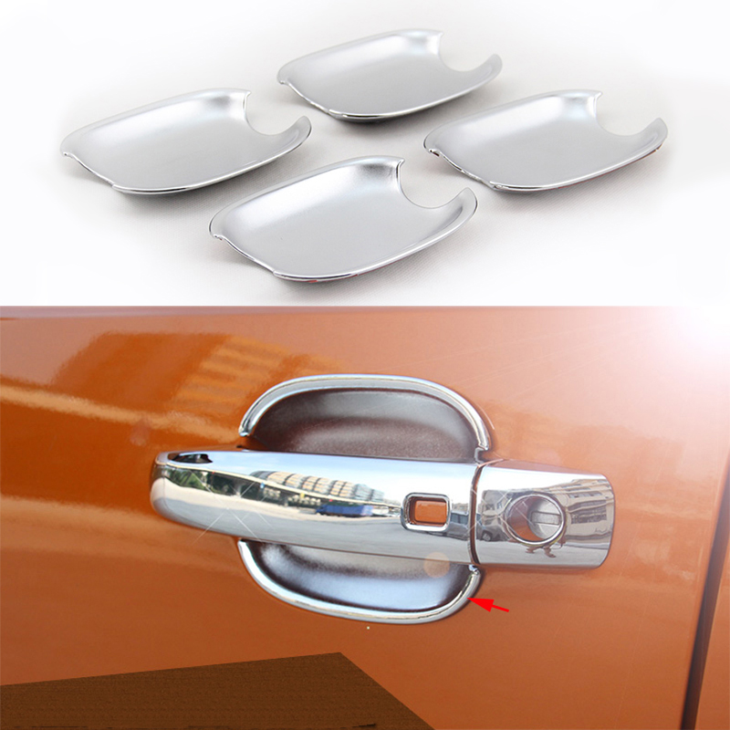 8x Chrome Outer Door Open Handle Decorator Panel Cover Trim For Audi Q3 15-2017
