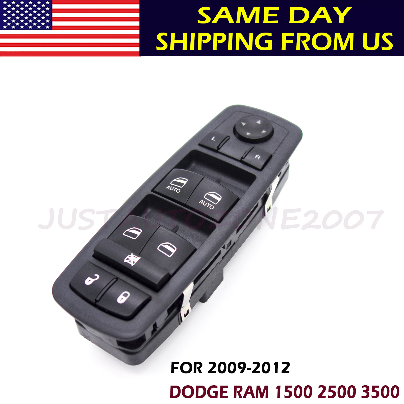 4602863AD Power Window Switch Driver Side For Dodge Ram 2009 2010 2011 2012