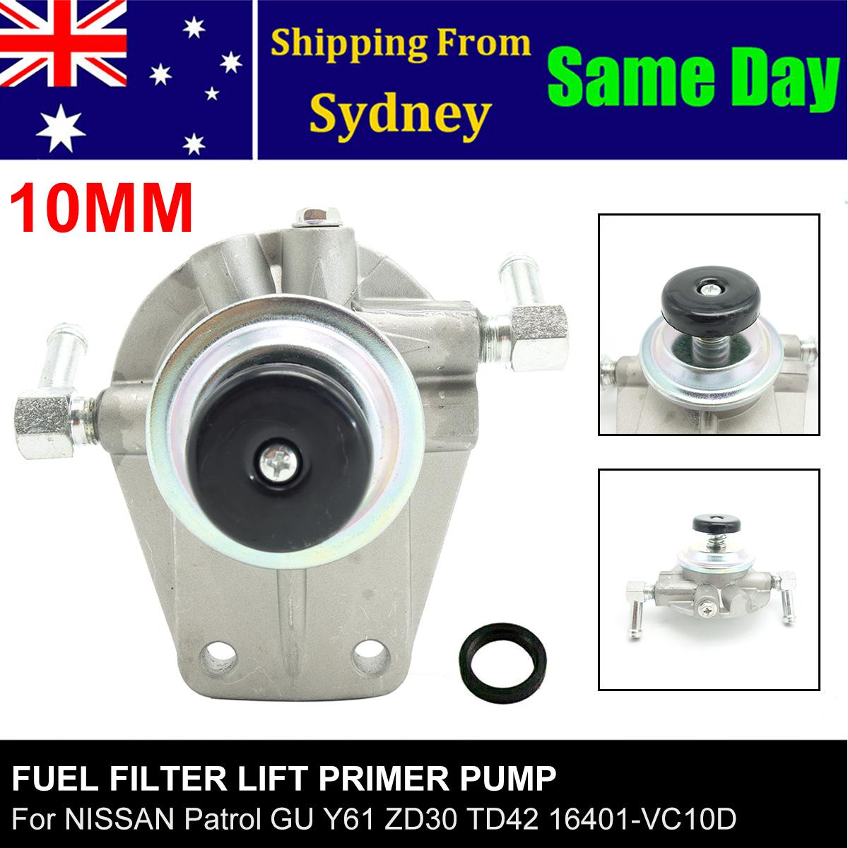 Genuine Patrol GU Y61 ZD30 TD42 Fuel Filter Lift Primer Pump 16401VC10D