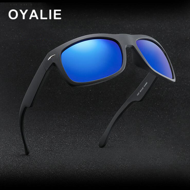 Men Sport Square Sunglasses UV400 Outdoor Driving Cycling Fashion Glasses New