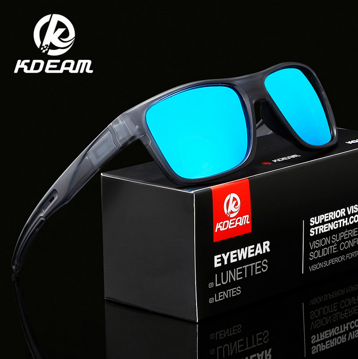 KDEAM Men Polarized Sport Sunglasses UV400 Outdoor Driving Cycling Glasses 2020