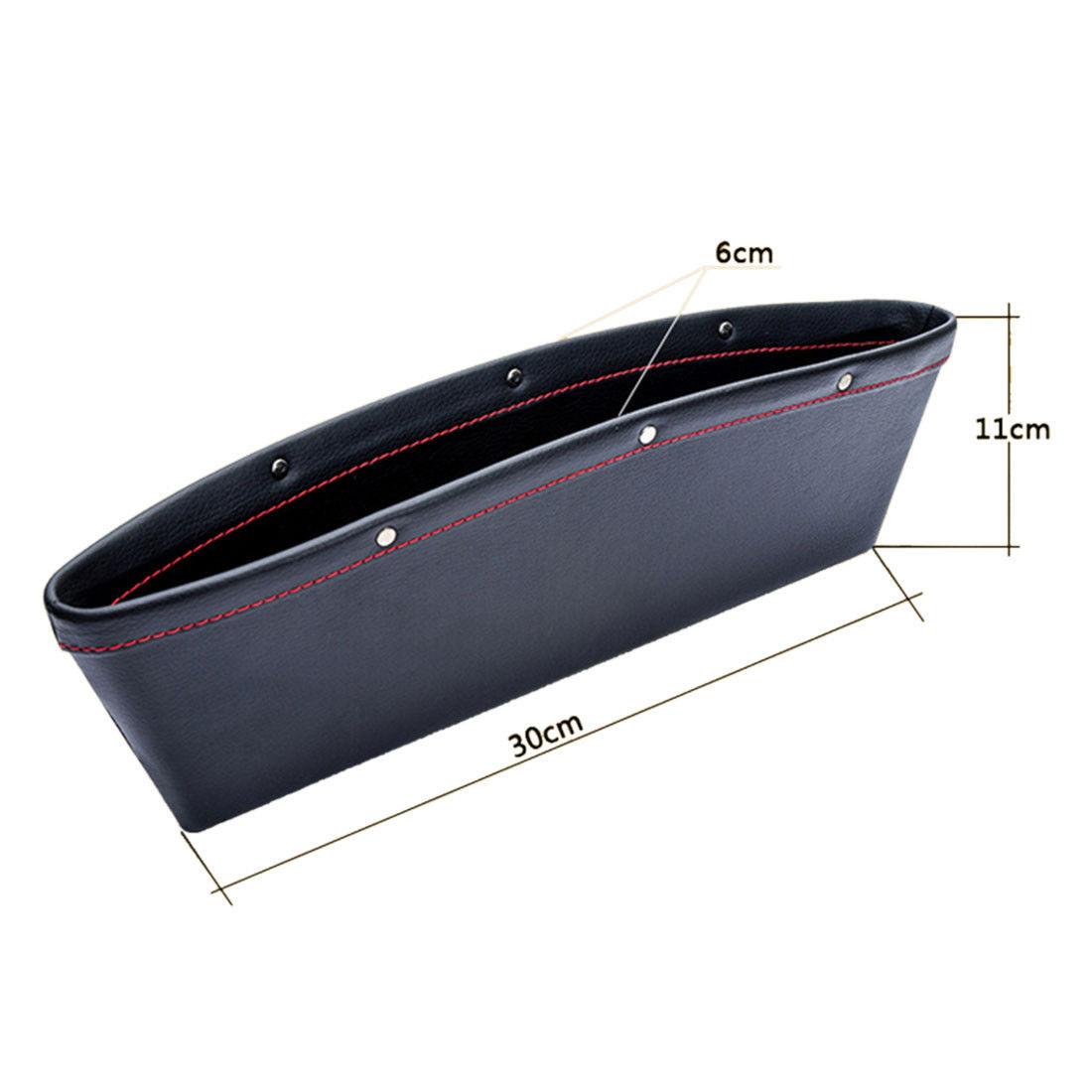 2x Catch Catcher Box Caddy Car Seat Gap Slit Pocket