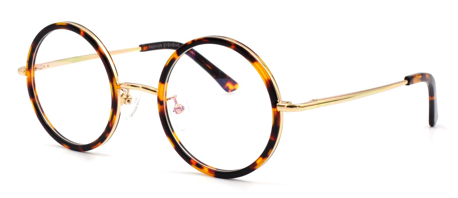 John Lennon style vintage mens round glasses eyeglasses frames metal ...