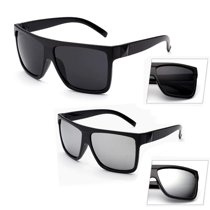 Retro Oversized Black Large Frame Sunglasses Mens Womens Fashion ...