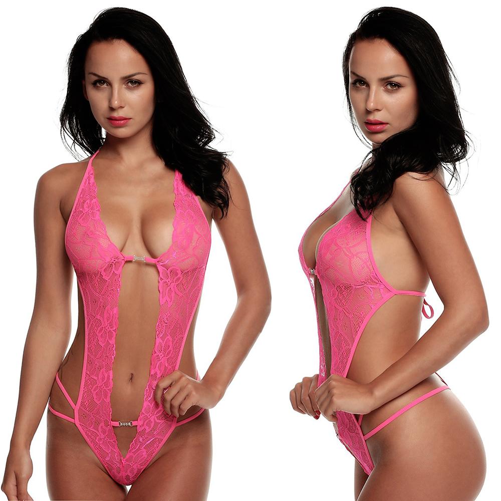 Women's Sexy Lingerie Nighty Lace Babydoll Underwear Naughty ...