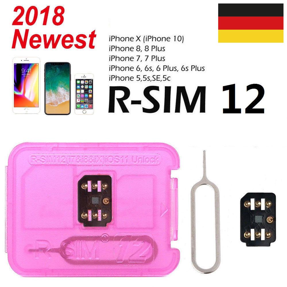 Sim Karte Entsperren Iphone 5.Details Zu Rsim 12 2018 R Sim Nano Entsperren Karte Für Iphone Xr Xs Maxx 8 7 6 Ios 12 11