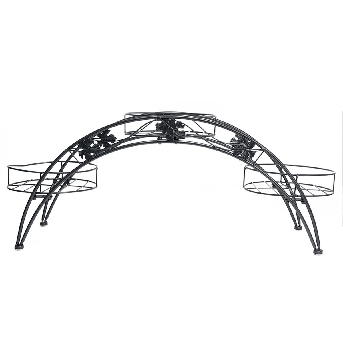 metall blumenst nder blumenhocker pflanzentreppe blumenregal blumentopf regal ebay. Black Bedroom Furniture Sets. Home Design Ideas