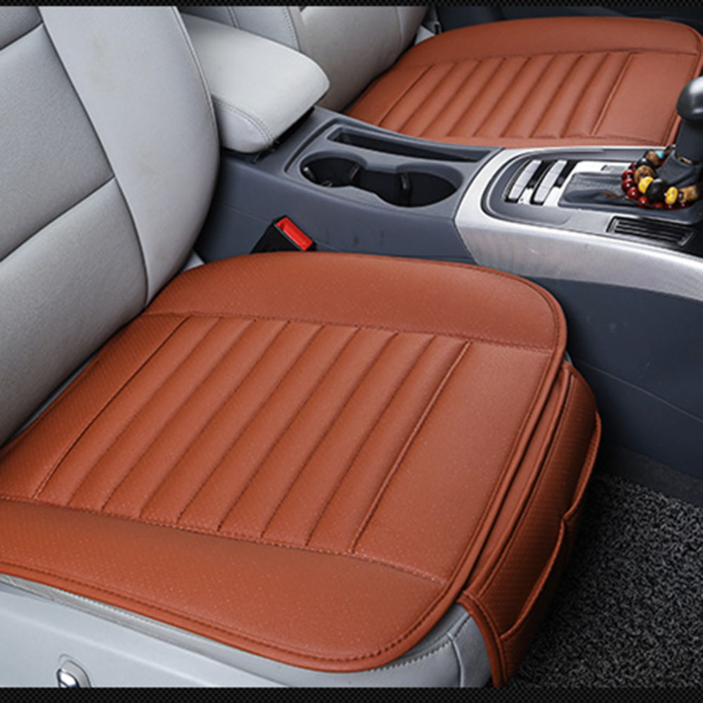 Terrific Details About Fit For Bmw Benz Audi Pu Leather Seat Cover Cushion Pad Bamboo Bamboo Charcoal Squirreltailoven Fun Painted Chair Ideas Images Squirreltailovenorg