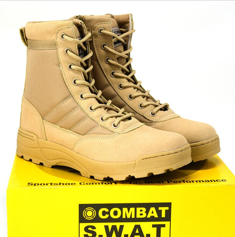 Vintage Mens Forces Military Boots Leather Boot Swat