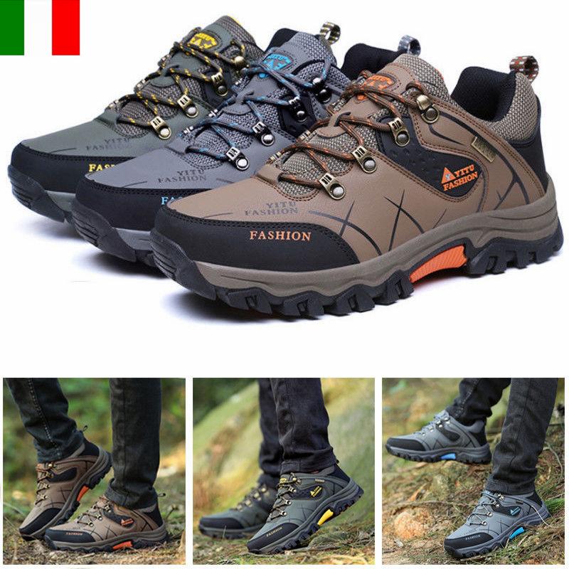 Dettagli su Scarpe da trekking da uomo Scarpe sportive da esterno Scarpe da lavoro 39 47