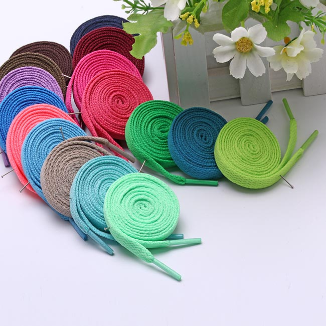 47 inch Unisex Rope Multi Color Waxed Round Cord Dress Shoe Laces  120 CM
