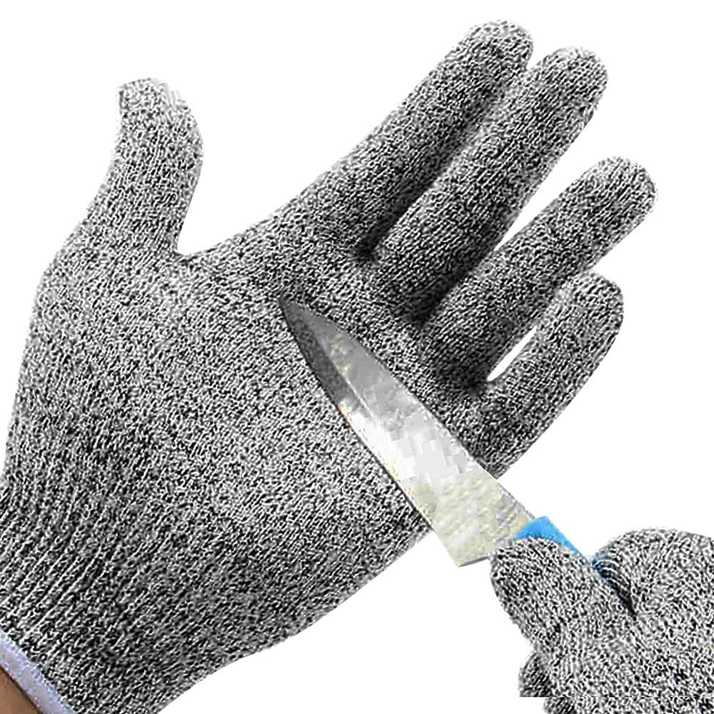 Cut Resistant Gloves Level 5 Stainless Steel Butcher Proof Meat Process Safety