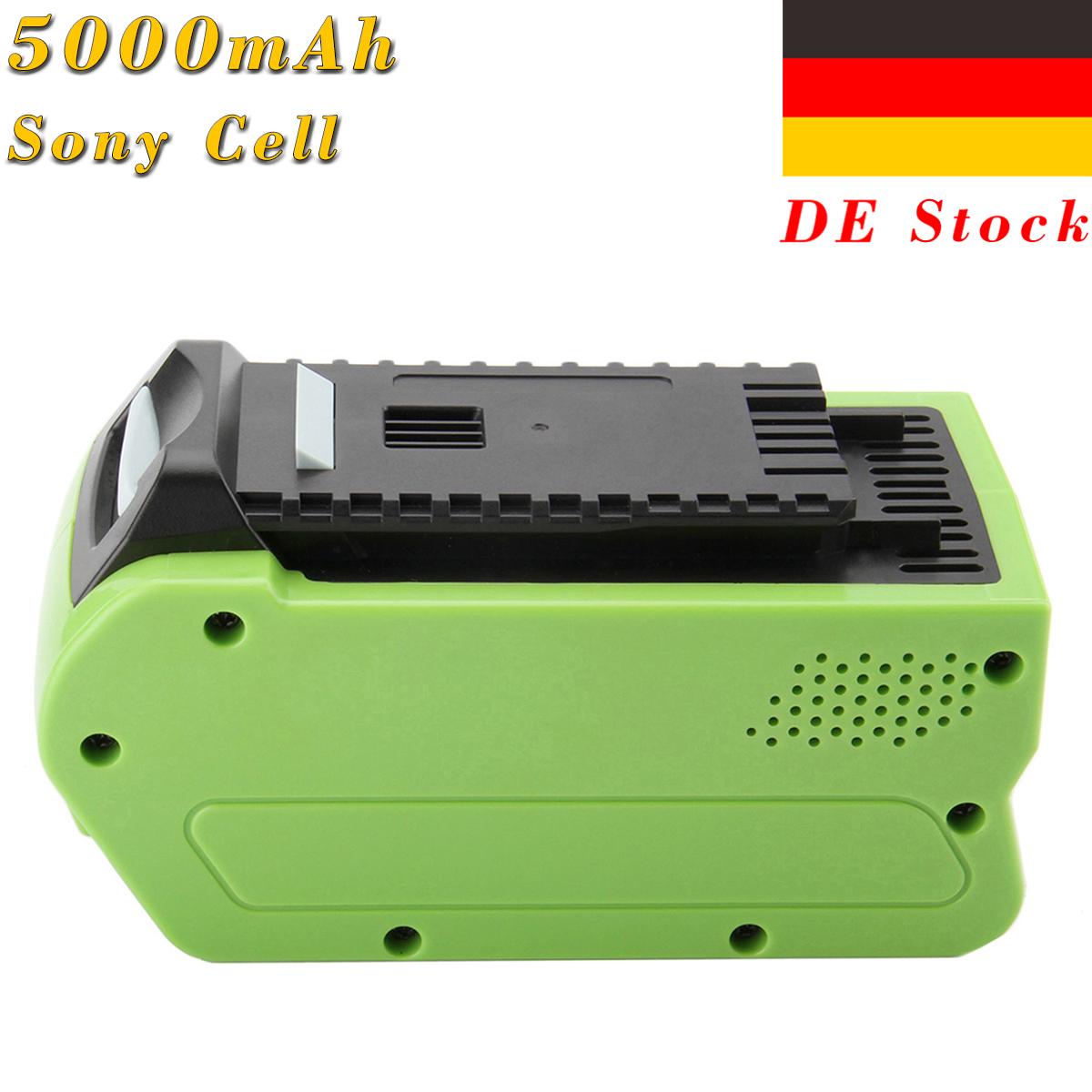 Für GreenWorks G-MAX 29472 26272 24252 21332 29462  40V Li-ion Akku Ladegerät