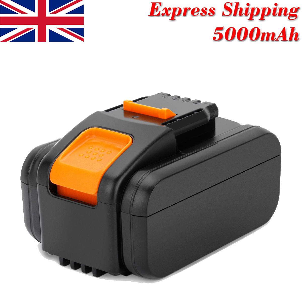 20V 5000mAh Li-Ion Batterie Pour Worx WX678 WX678.9 WG549 WA3551.1 WG259 WX390