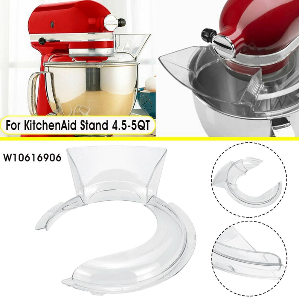 Kn1ps Pouring Shield For Kitchenaid 4 5 5 Quart Polished