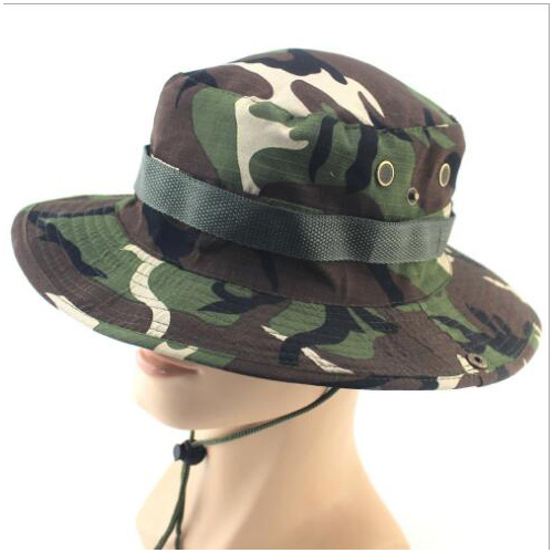 Outdoor sports hunting fishing boonie hat camouflage for Fishing boonie hat