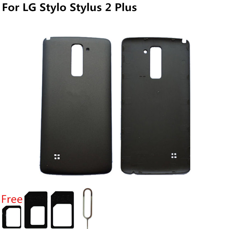 new arrival b2b7c 8c5b4 Details about For LG Stylo Stylus 2 Plus MS550 K550 Metro Pcs T-Mobile Back  Battery Cover Case