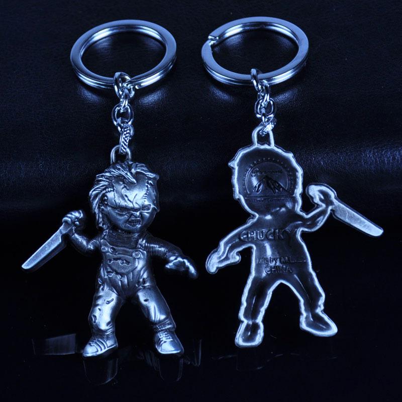 Horror Movie Child/'s Play Chucky Alloy Key Chains Keychain Keyfob Keyring