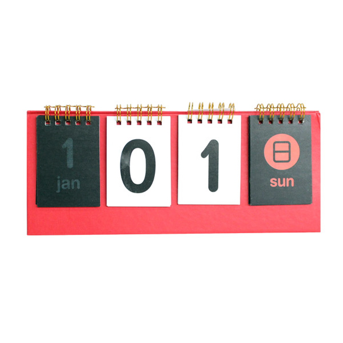 vicdream d day standing desk calendar any year count down calendar red