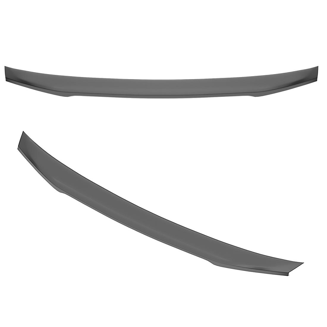 New M&S Matte Black Rear Trunk Wing Spoiler S Type for Kia Stinger ...