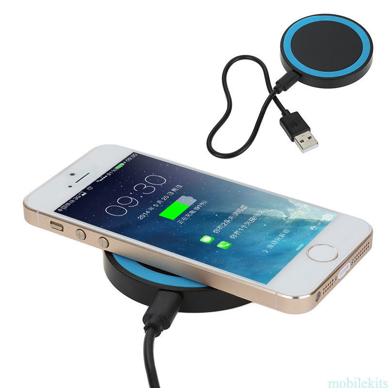 qi wireless charging charger dock pad for iphone x 8 8. Black Bedroom Furniture Sets. Home Design Ideas