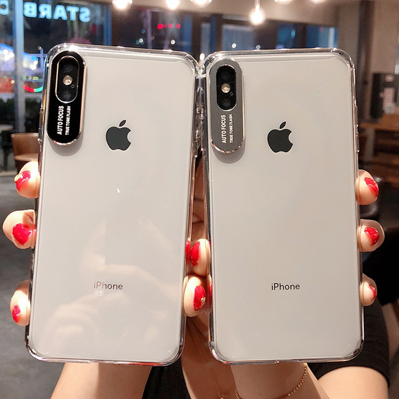 9d2701b6615 Details about For iPhone XS Max XR X 8 6s 7 Plus Camera Protect Hard PC  Back Clear Case Cover