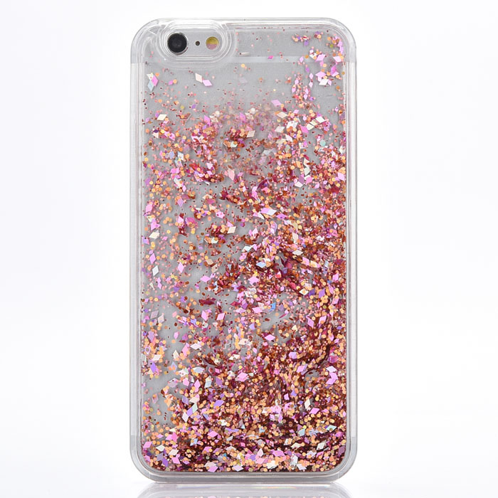 quicksand liquid glitter stars bling moving clear protect for phone