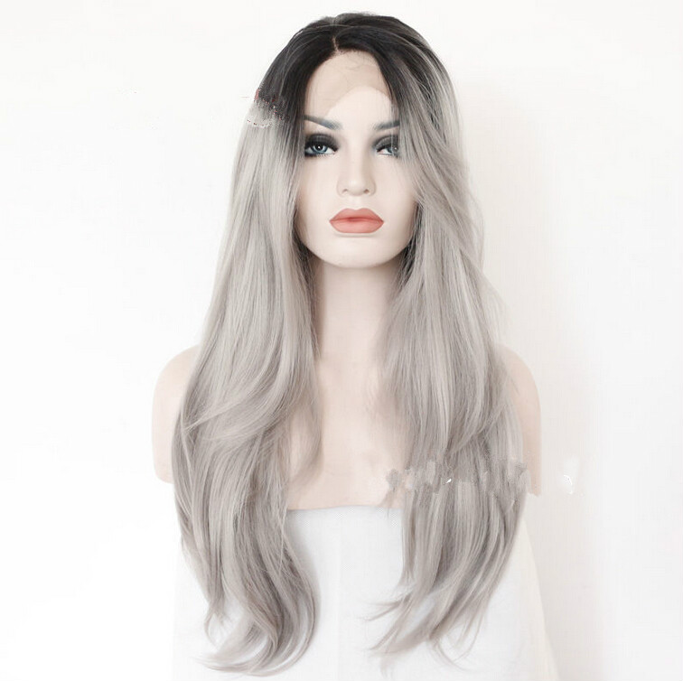 Women Fashion Lady Anime Long Straight Hair Party Cosplay