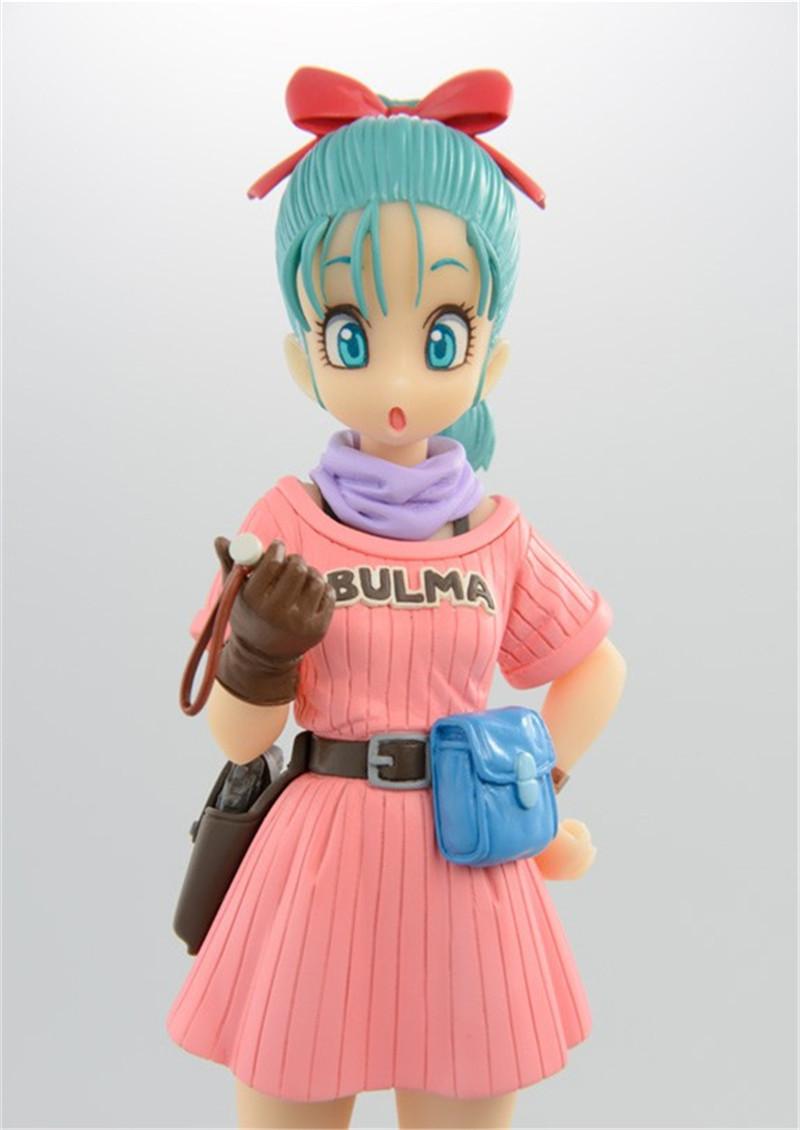 Dragon Ball Z SCultures Big Tenkaichi Budoukai 7 Bulma Buruma Girl Figure 17cm